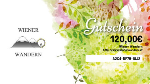 Vouchers of Wiener Wandern
